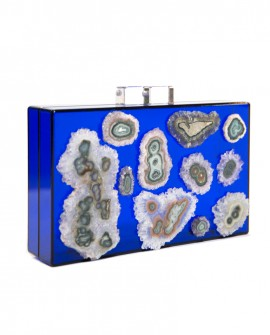 Stalactite Lucite Clutch